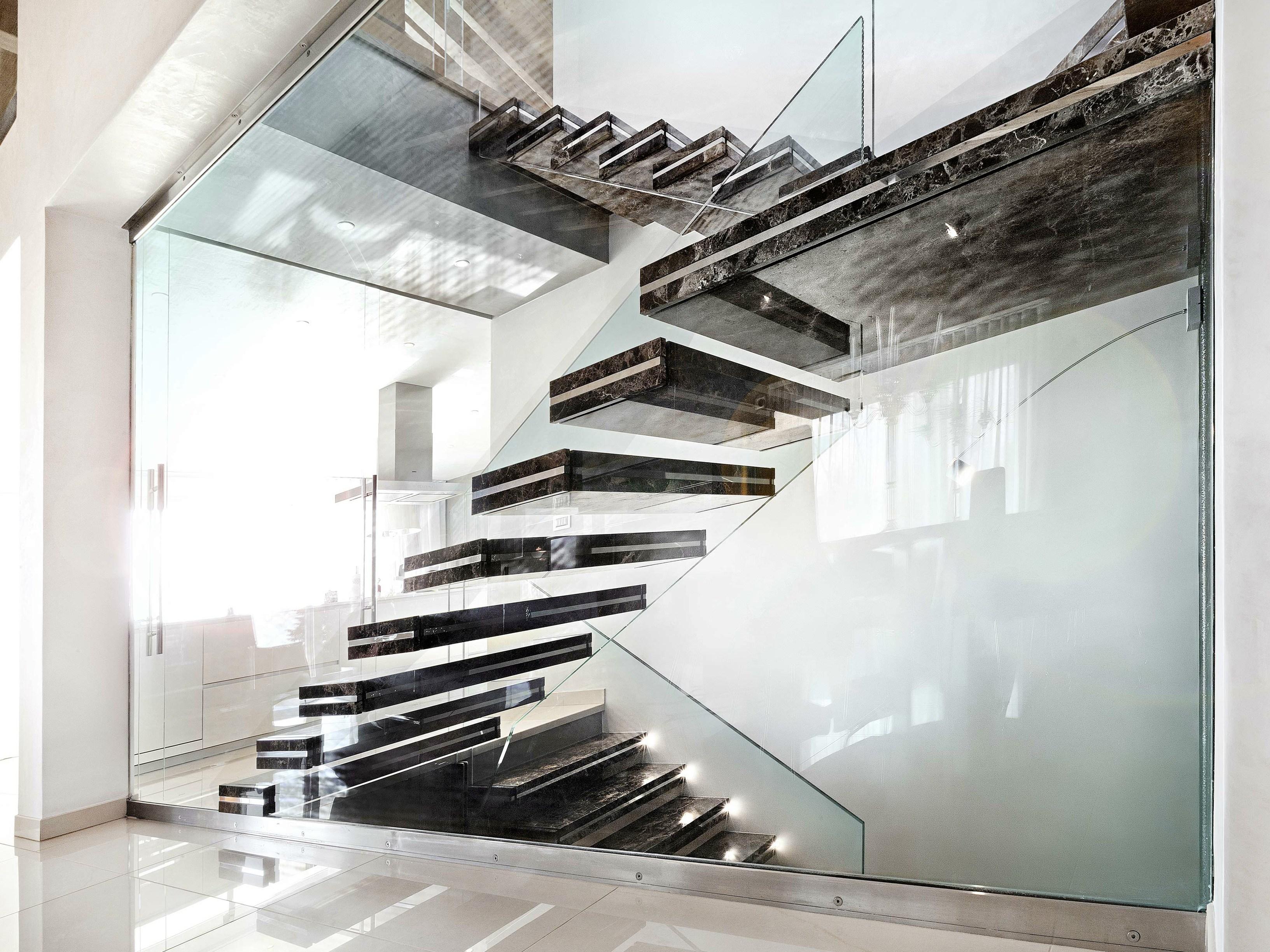el auge de las escaleras de mrmoles en bilbao el marmolista - Escaleras Voladas